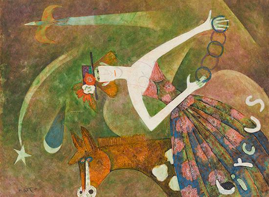 Woman Performing Magic